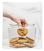 Stealing Cookies From The Cookie Jar Fleece Blanket