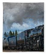 Steam Engine 261 Fleece Blanket