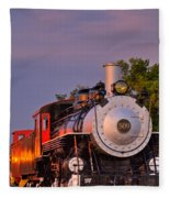 Steam Engine Number 509 Fleece Blanket