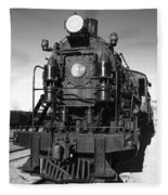 Steam Engine Fleece Blanket