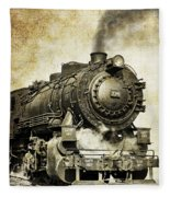 Steam Locomotive No. 334 Fleece Blanket
