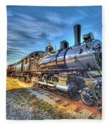 Steam Locomotive No 6 Norfolk And Western Class G-1 Fleece Blanket