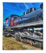 Steam Locomotive Virginian Class Sa No 4 Fleece Blanket