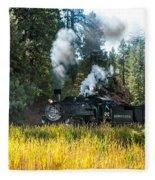 Steam Train 2 Fleece Blanket