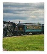 Steam Train Tr3627-13 Fleece Blanket