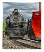 Steam Train Tr3637-13 Fleece Blanket