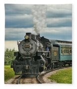 Steam Trains Tr3629-13 Fleece Blanket