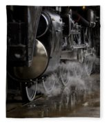 Steam Wheels Fleece Blanket