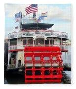 Steamboat Natchez Fleece Blanket