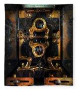 Steampunk - Electrical - The Power Meter Fleece Blanket