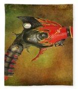 Steampunk - Gun - Electric Raygun Fleece Blanket