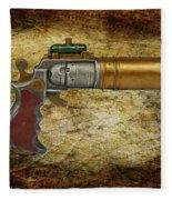 Steampunk - Gun - The Ladies Gun Fleece Blanket