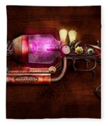 Steampunk - Gun -the Neuralizer Fleece Blanket