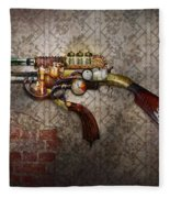 Steampunk - Gun - The Sidearm Fleece Blanket