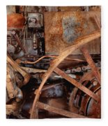 Steampunk - Machine - The Industrial Age Fleece Blanket