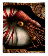 Steampunk - Nautilus - Coming Out Of Your Shell Fleece Blanket