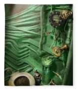 Steampunk - Naval - Plumbing - The Head Fleece Blanket