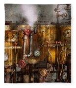 Steampunk - Plumbing - Distilation Apparatus  Fleece Blanket