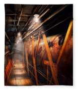 Steampunk - Plumbing - The Hallway Fleece Blanket