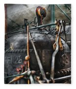 Steampunk - The Steam Engine Fleece Blanket