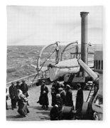 Steamship 1914 Fleece Blanket