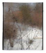 Steamy Window Fleece Blanket