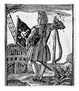 Stede Bonnet (c1688-1718) Fleece Blanket