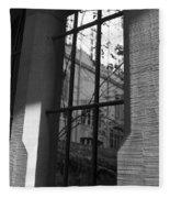 Steel Window Fleece Blanket