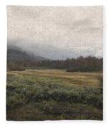 Steens Mountain Landscape - No. 2 Fleece Blanket