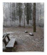 Steep And Frost - 3 Fleece Blanket
