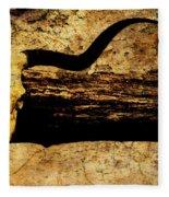 Steer Mount Fleece Blanket