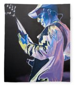 Stefan Lessard Colorful Full Band Series Fleece Blanket
