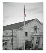 Steilacoom Town Hall Fleece Blanket