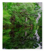 Steinhatchee River Fleece Blanket