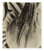 Steinway Piano Inners Fleece Blanket