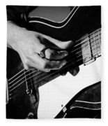 Stella Burns - Guitar Close-up Fleece Blanket