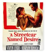 Stellaaaaa - A Streetcar Named Desire Fleece Blanket