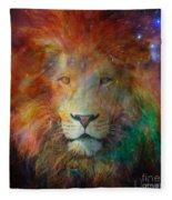 Stellar Lion Fleece Blanket