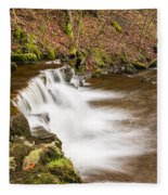 Step In The Scaleber Force Waterfall Fleece Blanket