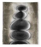 Stepping Stones Fleece Blanket
