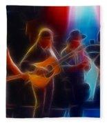 Steve Miller Band Fractal-1 Fleece Blanket