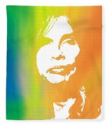 Steven Tyler Fleece Blanket