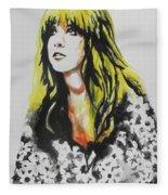 Stevie Nicks 02 Fleece Blanket