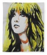 Stevie Nicks 01 Fleece Blanket