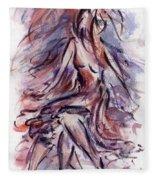 Still Dancing Fleece Blanket