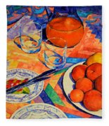 Still Life 1 Fleece Blanket