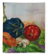 Still Life With Bottle Fleece Blanket