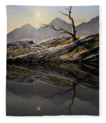 Still Standing Reflections Fleece Blanket