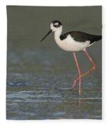 Stilt In Duckweed Fleece Blanket
