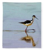 Stilt Out For A Stroll Fleece Blanket